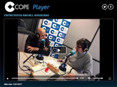 Entrevista a D. Rafael Higueras en Cope Jaén