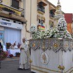 Primer Altar de la Hospitalidad, para el Corpus Christi