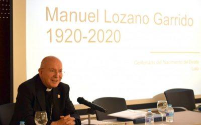 Monseñor Rodríguez Magro abre la primera sesión de la asamblea de Delegados diocesanos, dedicada al Centenario del Nacimiento del Beato Lolo (incluye vídeo)