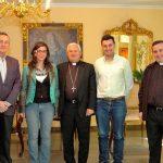 La Asociación de la Prensa de Jaén comparte con el Obispo la situación actual de los periodistas