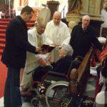 Celebración de la Pascua del enfermo en la S.I. Catedral de Baeza