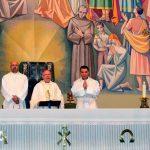 Lolo en la iglesia Cristo Rey de Jaén