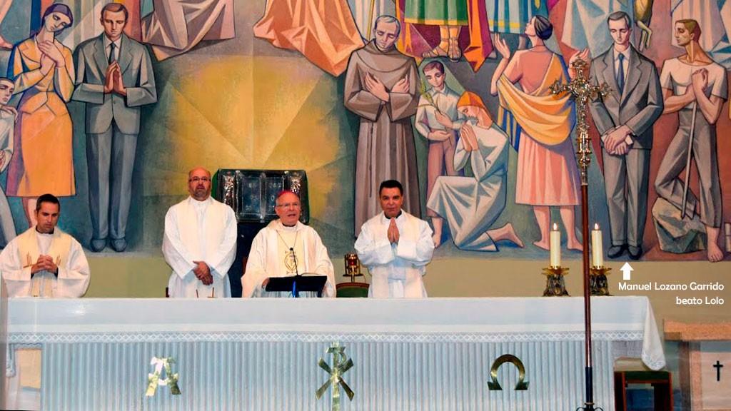 Obispo de Jaén. Misa por el Dies Natalis del beato Lolo