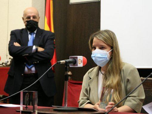 Ángeles Conde, XI premio Lolo de Periodismo Joven