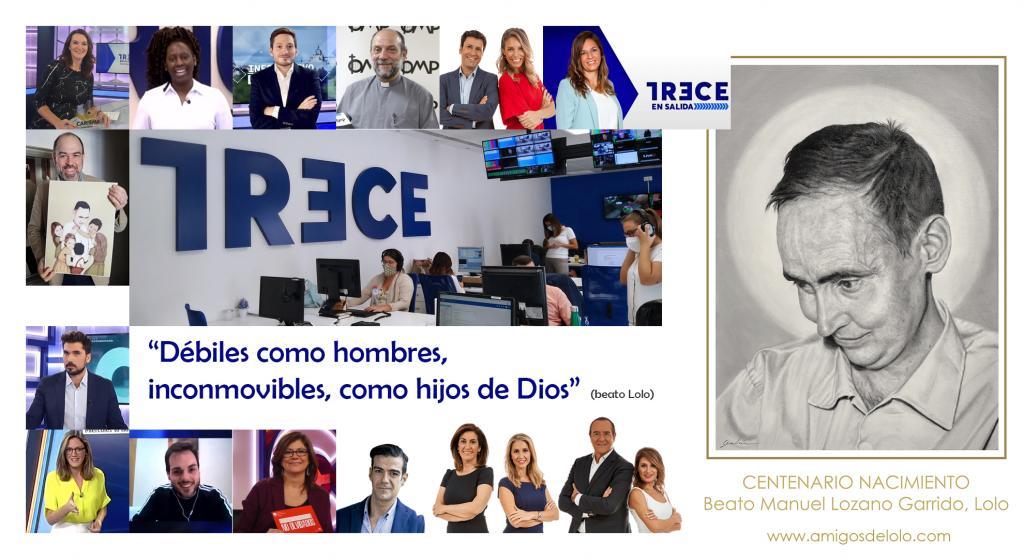 Fundación beato Lolo felicita a TREC por su 10º aniversario