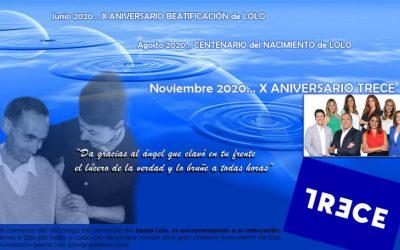 ¡Feliz X aniversario, TRECE TV!