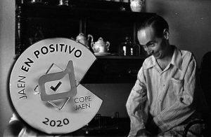 Fotomontaje Beato Lolo-Premio Jaén en Positivo 2020 de Comunicación