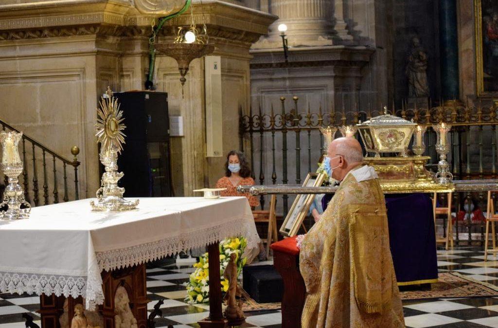 Jaén recibe las reliquias del Beato Lolo que estarán en la capital hasta el día 13