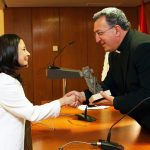 Laura Daniele recibe el V premio Lolo de Periodismo Joven