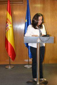 Intervención de Laura Daniele tras recibir el premio