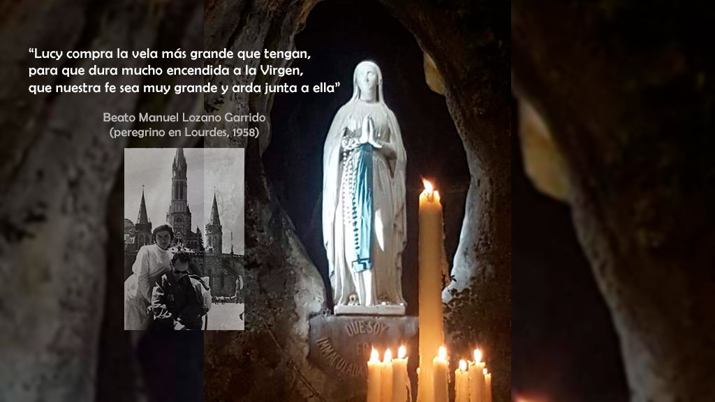 Lucy nos cuenta cómo fue su peregrinación a Lourdes con el beato Lolo