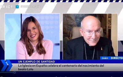 El Obispo de Jaén habla de Lolo en Crónica de Roma
