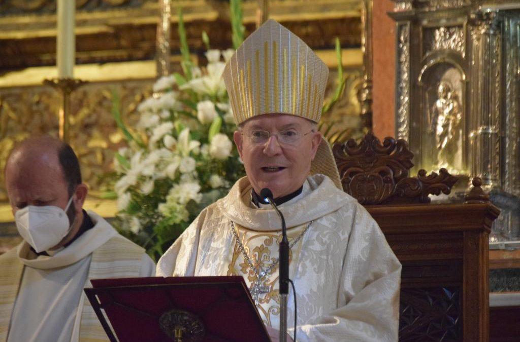 Obispo de Jaén, homilía misa de apertura Centenario beato Lolo