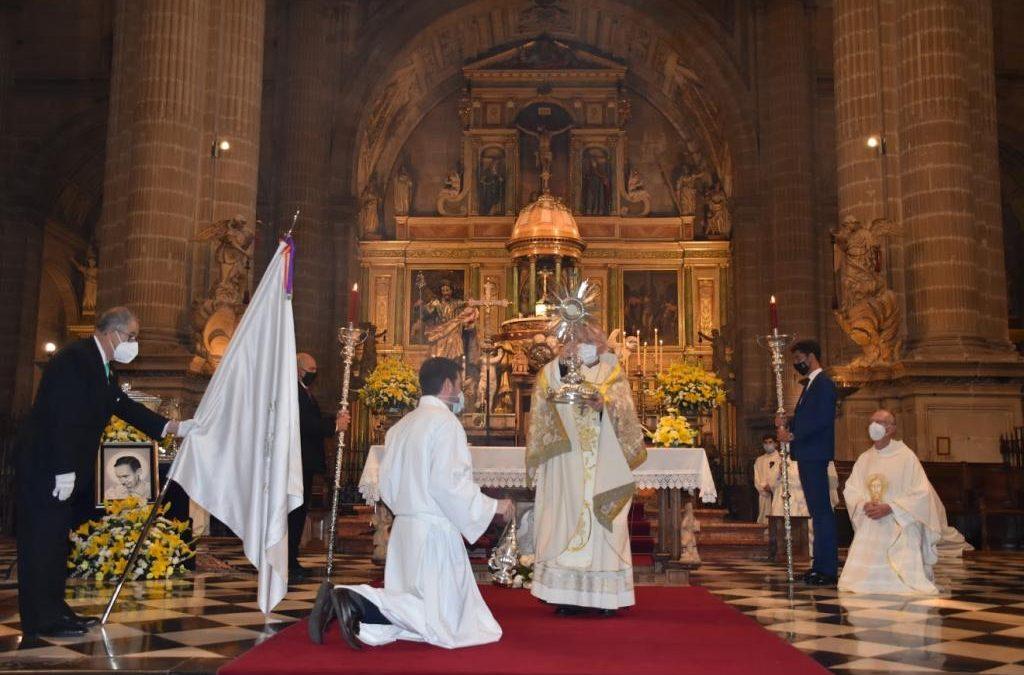 Las reliquias del beato Lolo en la celebración del Corpus Christi
