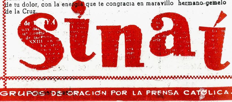 "Lourdes-""Sinaí""-Lolo: desde entonces hasta hoy (XXVII)"