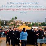 Ha fallecido D. Alberto López Poveda, presidente de la Asociación Amigos de Lolo
