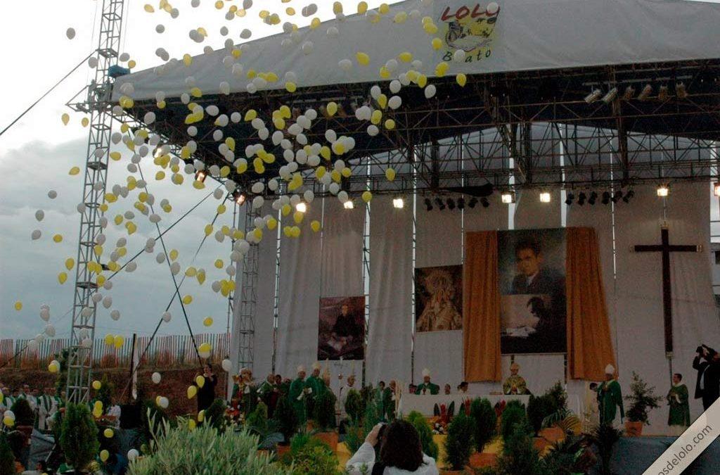 """Tercer aniversario de la Beatificación del periodista y escritor Manuel Lozano Garrido, """"Lolo"""", fundador de Sinaí"""