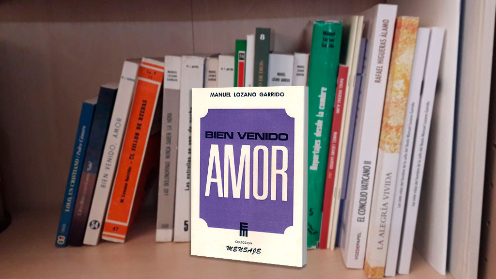 Libros de Lolo (6): Bien venido, Amor.
