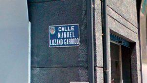 Calle Manuel Lozano Garrido en Linares