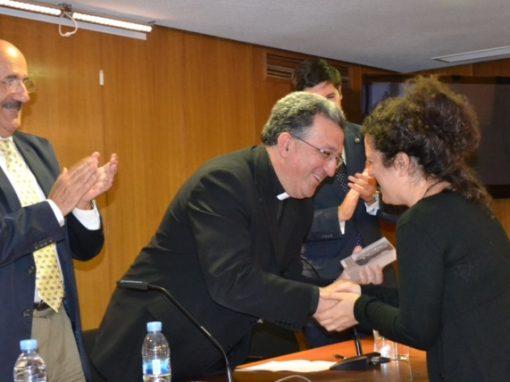 Cristina Sánchez, VI premio Lolo de Periodismo