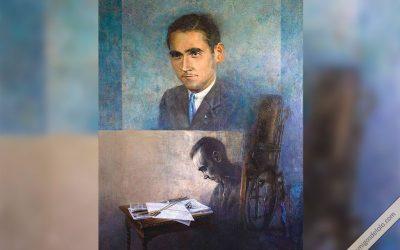 Cuadro por la beatificación de Manuel Lozano Garrido
