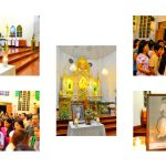 Celebración de la fiesta del Beato Lolo en Cavite, Filipinas