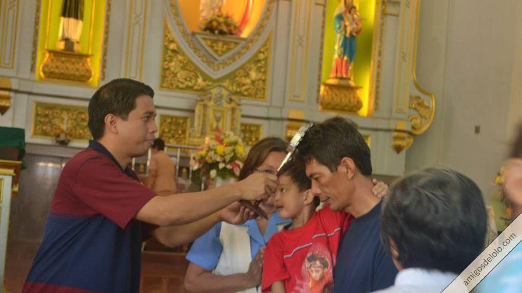 Celebración de la fiesta del Beato Lolo (2013) en Cavite, Filipinas