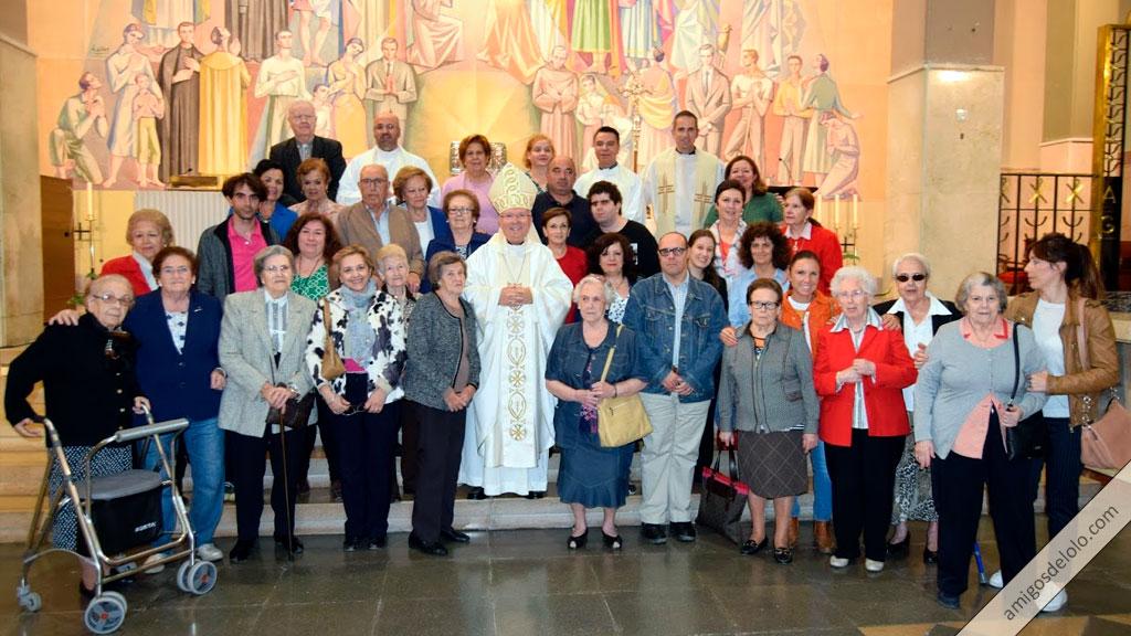 El Obispo preside una Eucaristía en el Dies Natalis del Beato Lolo