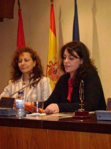 Intervención de María Gómez al recibir el premio Lolo