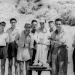 Lolo, en la feria de la Fe de Jaén