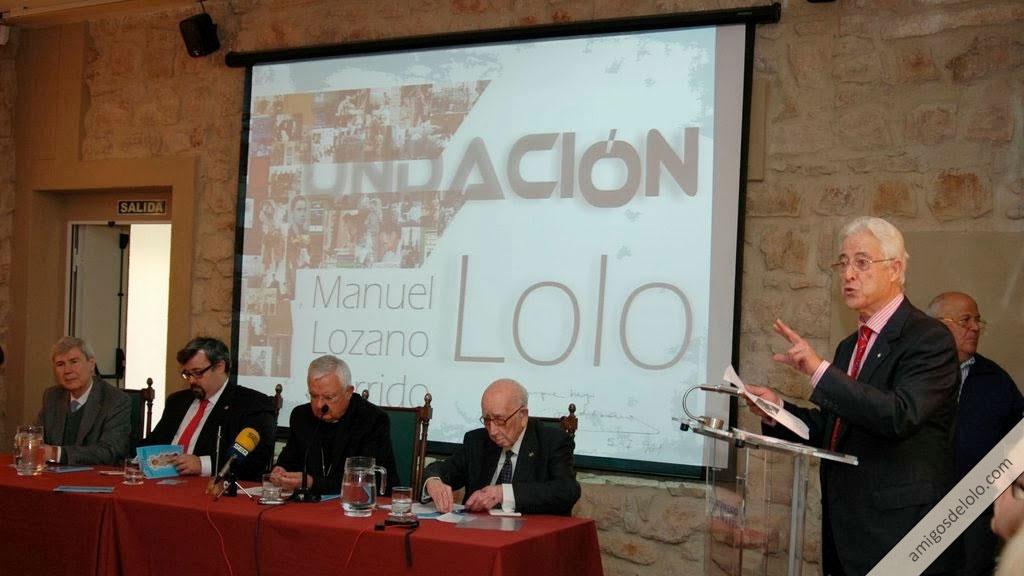 Constitución de la Fundación Beato Manuel Lozano Garrido