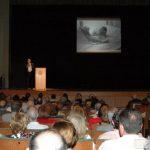 La víspera, velada en el Teatro Cervantes. El teatro se lleno de Presencia de Dios