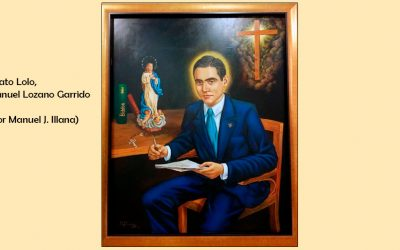 Retrato del beato Manuel Lozano Garrido (por Manuel Juan Illana)