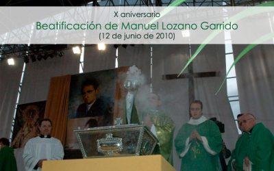 En el Centenario de Lolo, X aniversario de su Beatificación
