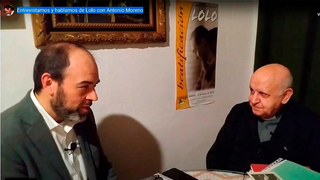 Hablamos de Lolo con Antonio Moreno