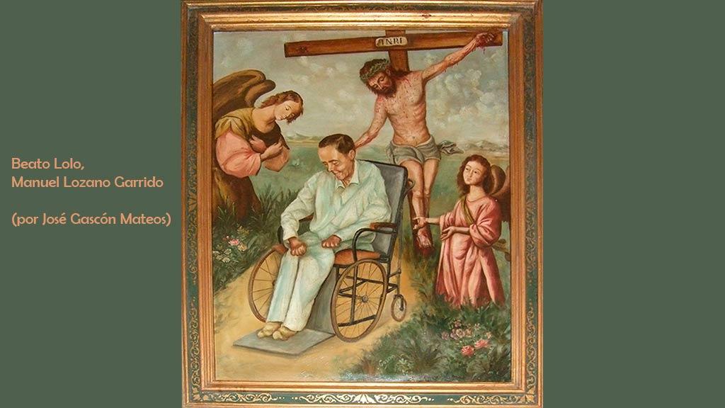 Retrato del beato Lolo (por José Gascón)