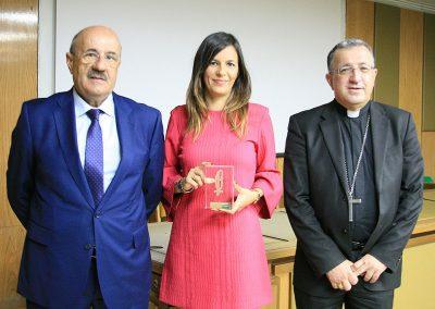 Irene Pozo, VIII premio Lolo de Periodismo