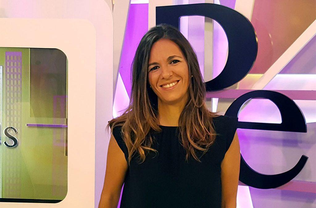 """Irene Pozo, productora y editora en 13TV, Premio """"Lolo"""" de periodismo de UCIPE"""