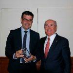 """La UCIP-E entrega el premio """"Lolo"""" de periodismo joven a José Beltrán"""