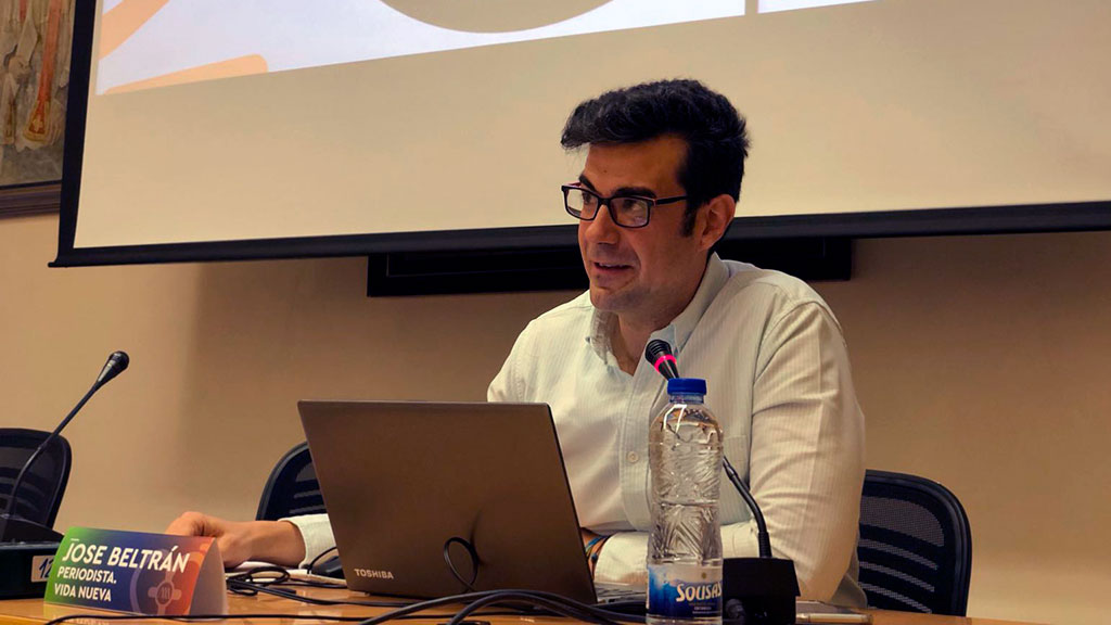 """José Beltrán, director de 'Vida Nueva', Premio """"Lolo"""" de Periodismo Joven de la UCIP-E (Revista Vida Nueva)"""