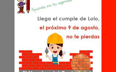 El próximo 9 de agosto, celebramos el cumple de Lolo con el… ¡Mosaico del Centenario!