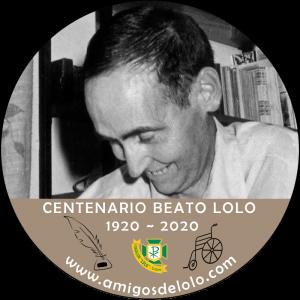 Logo del I centenario del nacimiento del beato Lolo