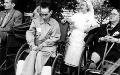 Peregrinación de enfermos a Lourdes con Manuel Lozano Garrido, Lolo