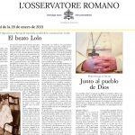 El beato Lolo (en L'Osservatore Romano)