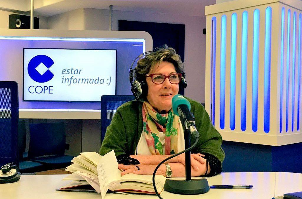 Paloma Gómez Borrero en Cope