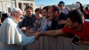 Papa Francisco saluda a seminaristas de Jaén