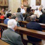 Celebración de la Pascua del enfermo en la S. I. Catedral de Baeza