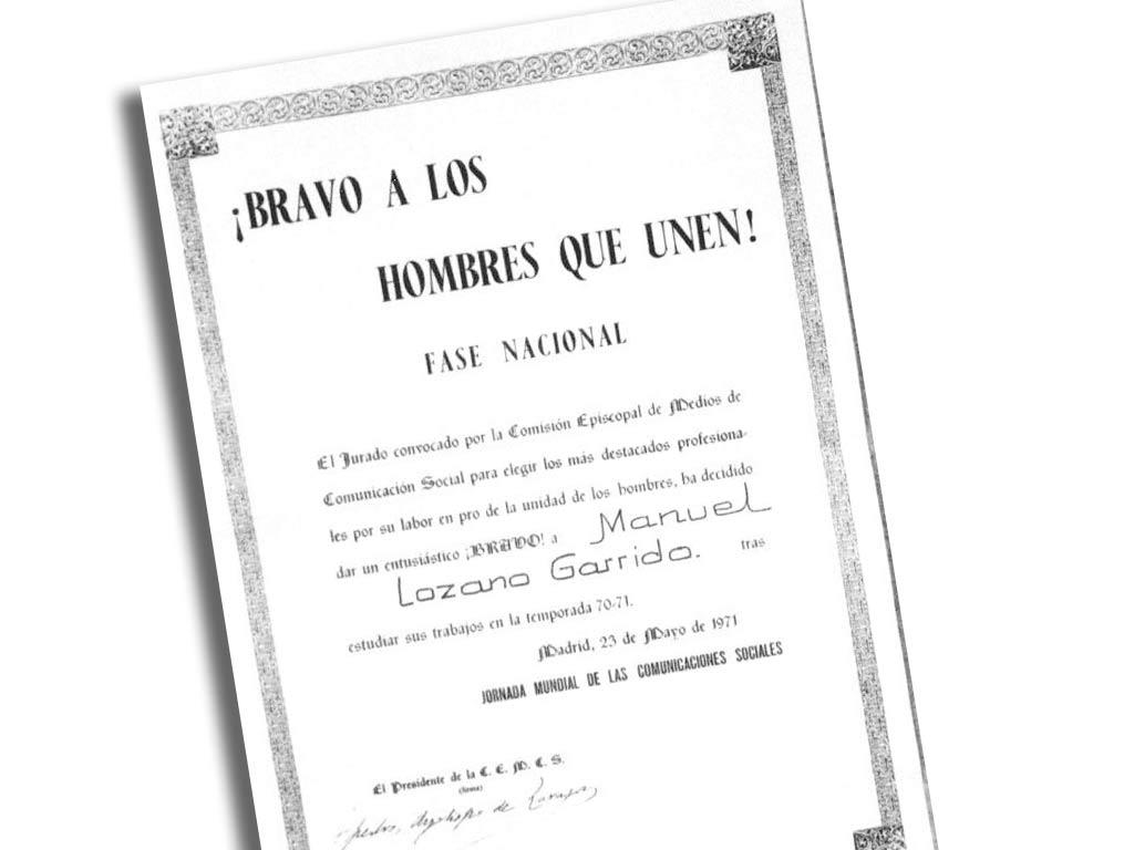 PREMIO BRAVO