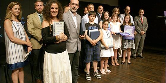 Cristina Sánchez Aguilar recibe el premio de Prensa de Manos Unidas 2011