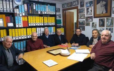 Reunión con el Vicario de Cultura y Religiosidad de la diócesis